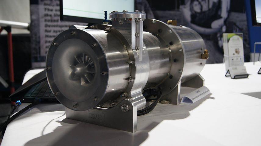 ecoJet's 20kW micro turbine generator prototype